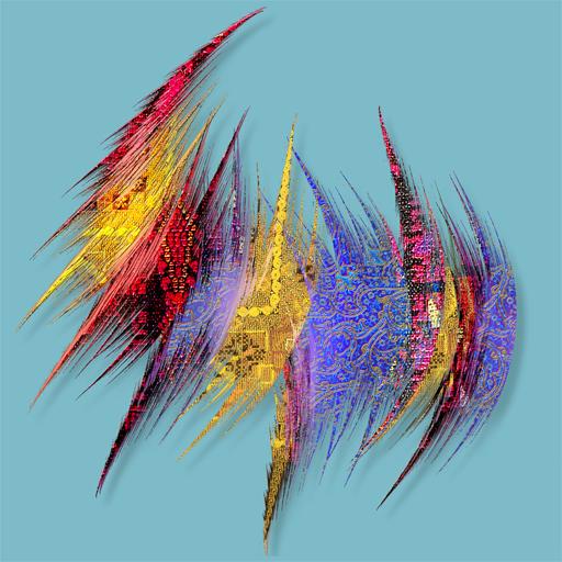 Tissu plumes